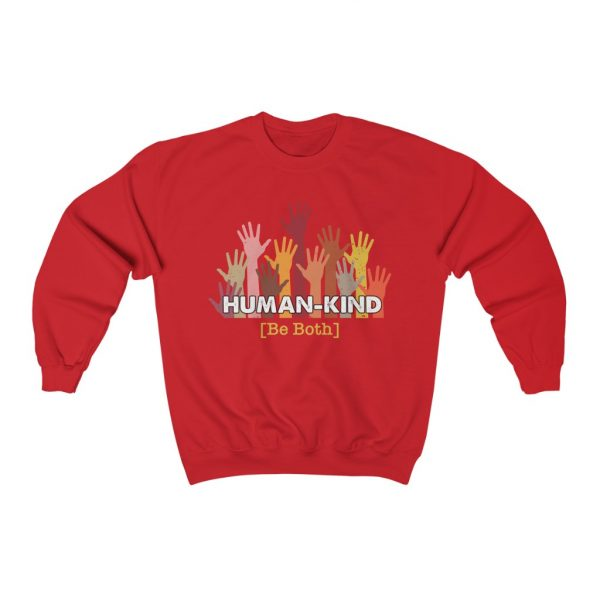 Human Kind - Be Both - Longsleeve sweatshirt | 25453