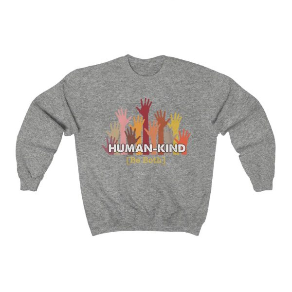 Human Kind - Be Both - Longsleeve sweatshirt | 25457