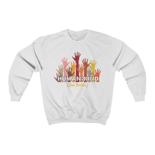 Human Kind - Be Both - Longsleeve sweatshirt | 25458