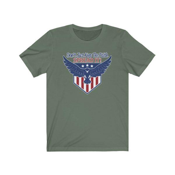 Don't Just Keep The Faith, Spread It - T-shirt | 64319