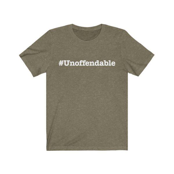 Unoffendable | #Unoffendable| Unisex Jersey Short Sleeve Tee | 39562