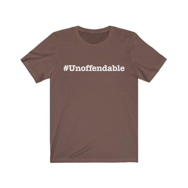 Unoffendable | #Unoffendable| Unisex Jersey Short Sleeve Tee | 39583