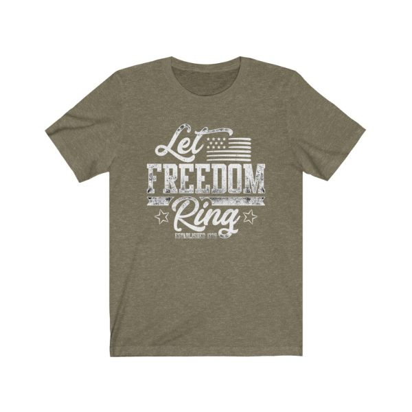 Let Freedom Ring T-shirt | 39562 5