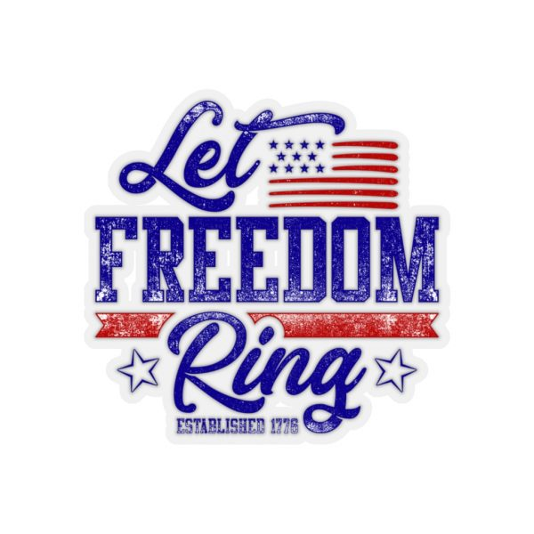 Let Freedom Ring Stickers   45751