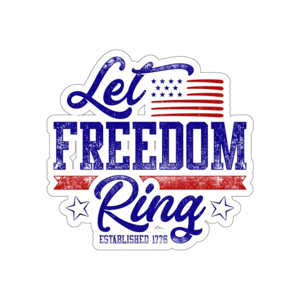 Let Freedom Ring Stickers   45752